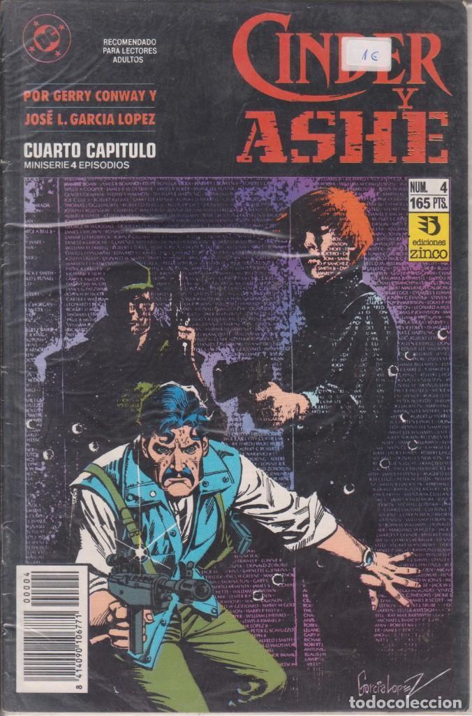COMIC CINDER Y ASHE Nº 4 ED.ZINCO (GERRY CONWAY / J.L.GARCÍA LÓPEZ) (Tebeos y Comics - Zinco - Otros)