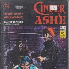 Cómics: COMIC CINDER Y ASHE Nº 4 ED.ZINCO (GERRY CONWAY / J.L.GARCÍA LÓPEZ). Lote 220863955