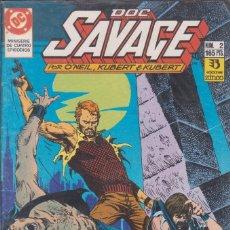 Cómics: COMIC DC DOC SAVAGE Nº 2 ED.ZINCO ( O´NEIL, KUBERT & KUBERT ). Lote 220866261