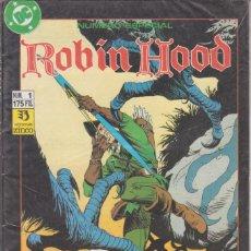 Cómics: COMIC DC ROBIN HOOD Nº 1 ED.ZINCO ( NUMERO ESPECIAL ). Lote 220867011