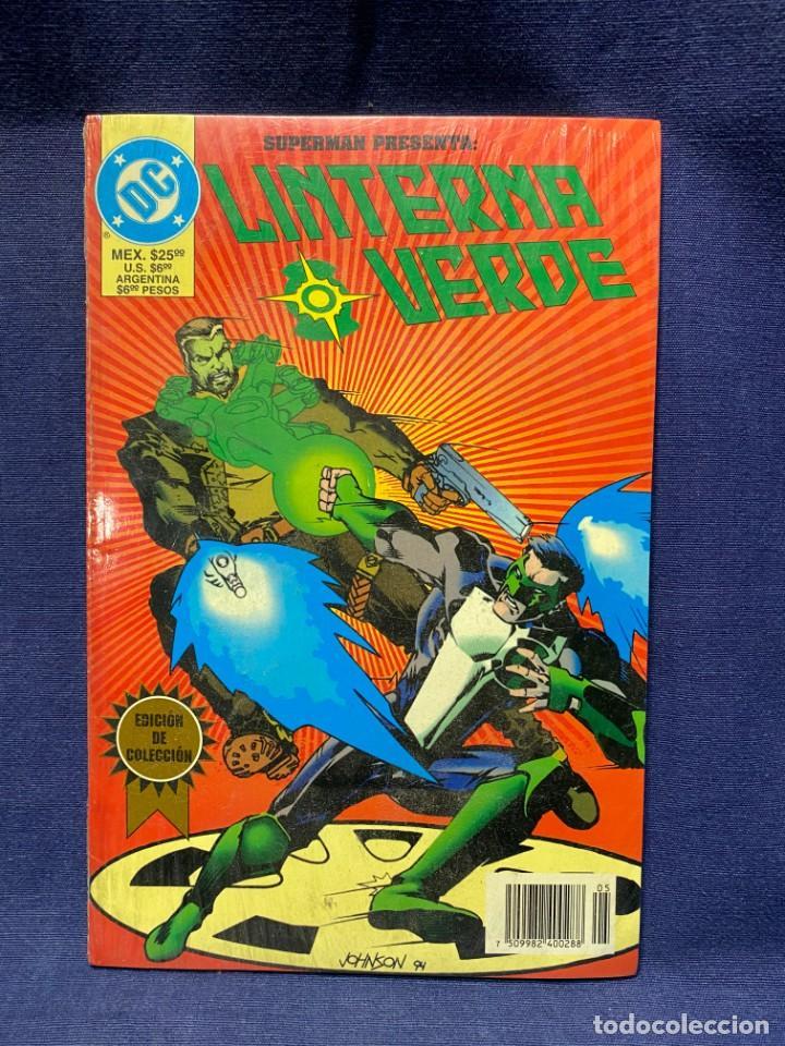 LINTERNA VERDE EDICION DE COLECCION ZINCO BAJO FILM 25,5X17CMS (Tebeos y Comics - Zinco - Otros)