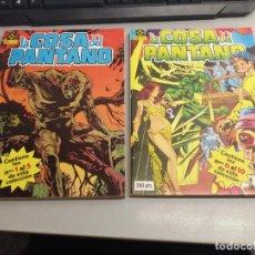 Comics: LA COSA DEL PANTANO / SERIE COMPLETA DE 10 NÚMEROS EN 2 TOMOS / ZINCO. Lote 220970437