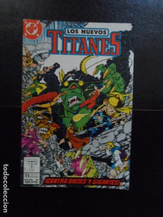 NUEVOS TITANES Nº 8 EDICIONES ZINCO VOLUMEN 2 (Tebeos y Comics - Zinco - Nuevos Titanes)
