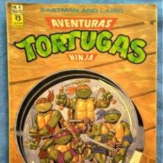 Comics: AVENTURAS DE LAS TORTUGAS NINJA - COMIC Nº6. Lote 221114026