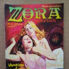 Cómics: ZORA LA VAMPIRA N°3 (ZINCO, 1986). CON LOS EPISODIOS LA VIUDA ALEGRE Y VAMPIROS CONTRA EL MUNDO.. Lote 221121745