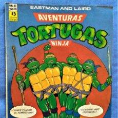 Fumetti: AVENTURAS DE LAS TORTUGAS NINJA - COMIC Nº43. Lote 221234681