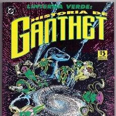 Cómics: LINTERNA VERDE: LA HISTORIA DE GANTHET (LARRY NIVEN, JOHN BYRNE) - ZINCO, 1993. Lote 221290051
