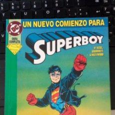 Cómics: SUPERBOY ZINCO DC OBRA COMPLETA UN NUEVO COMIENZO PARA SUPER BOY. NUEVO SIN LEER. Lote 221471168