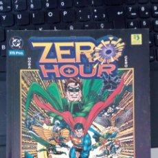 Cómics: ZERO HOUR: CRISIS TEMPORAL - DAN JURGENS & JERRY ORDWWAY - HORA ZERO SUPERMAN BATMAN NUEVO SIN LEER. Lote 221472412
