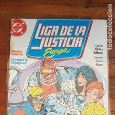Cómics: LIGA DE LA JUSTICIA EUROPA Nº1. Lote 221496288