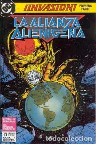 INVASION - COLECCION COMPLETA - ZINCO - 1990 - 8 NUMEROS - GRAPA (Tebeos y Comics - Zinco - Otros)