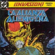 Cómics: INVASION - COLECCION COMPLETA - ZINCO - 1990 - 8 NUMEROS - GRAPA. Lote 221537167
