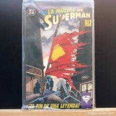 Cómics: LA MUERTE DE SUPERMAN EL FIN DE UNA LEYENDA EDICIONES ZINCO. Lote 221612978