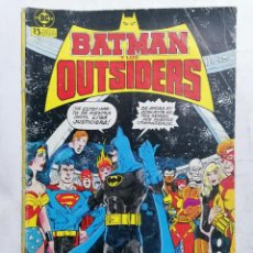 Cómics: BATMAN Y LOS OUTSIDERS, Nº 1, EDICIONES ZINCO. Lote 221657598