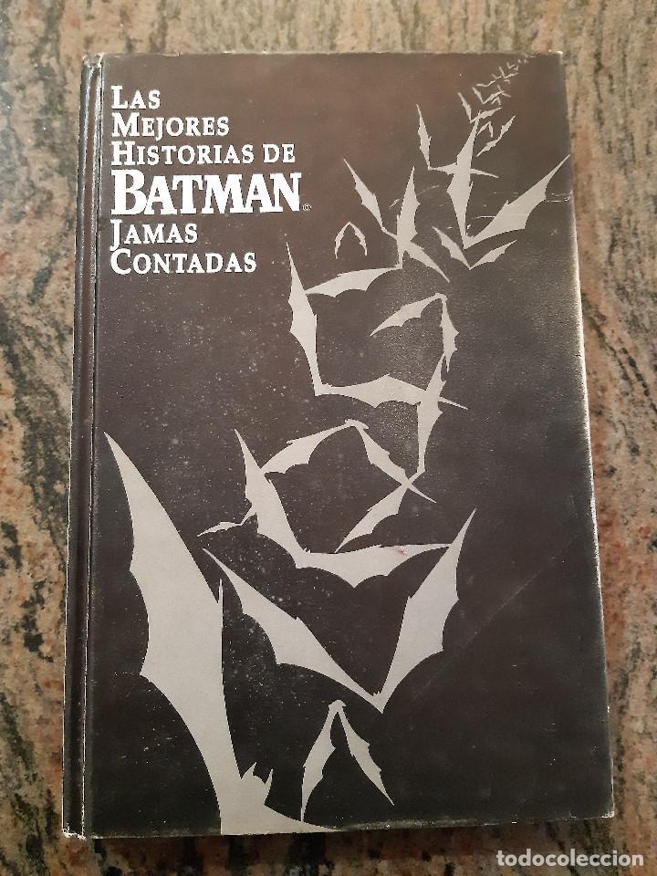 LAS MEJORES HISTORIAS DE BATMAN JAMAS CONTADAS. EDICIONES ZINCO. 1988. TAPA DURA. (Tebeos y Comics - Zinco - Batman)