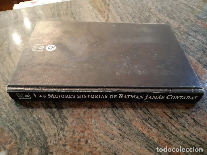 Cómics: LAS MEJORES HISTORIAS DE BATMAN JAMAS CONTADAS. EDICIONES ZINCO. 1988. TAPA DURA. - Foto 2 - 221701087