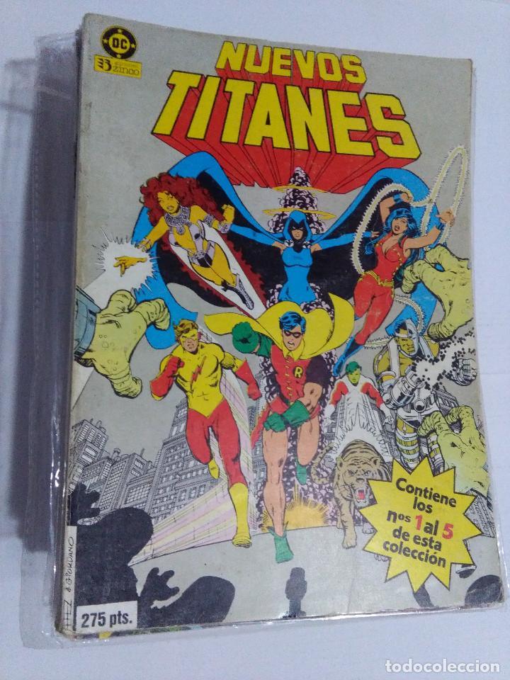 COLECCION COMPLETA LOS NUEVOS TITANES VOLUMEN 1 DE 1984 50+1 ESP(FALTAN LOS NUMEROS 19-21-22-25) (Tebeos y Comics - Zinco - Nuevos Titanes)