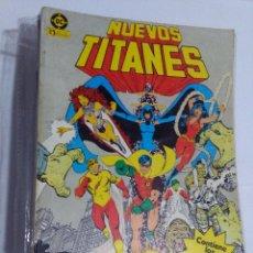 Cómics: COLECCION COMPLETA LOS NUEVOS TITANES VOLUMEN 1 DE 1984 50+1 ESP(FALTAN LOS NUMEROS 19-21-22-25). Lote 221708342