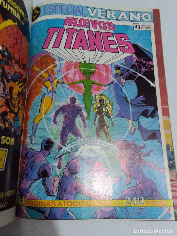 Cómics: COLECCION COMPLETA LOS NUEVOS TITANES VOLUMEN 1 DE 1984 50+1 ESP(FALTAN LOS NUMEROS 19-21-22-25) - Foto 3 - 221708342