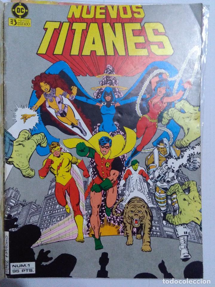 Cómics: COLECCION COMPLETA LOS NUEVOS TITANES VOLUMEN 1 DE 1984 50+1 ESP(FALTAN LOS NUMEROS 19-21-22-25) - Foto 4 - 221708342