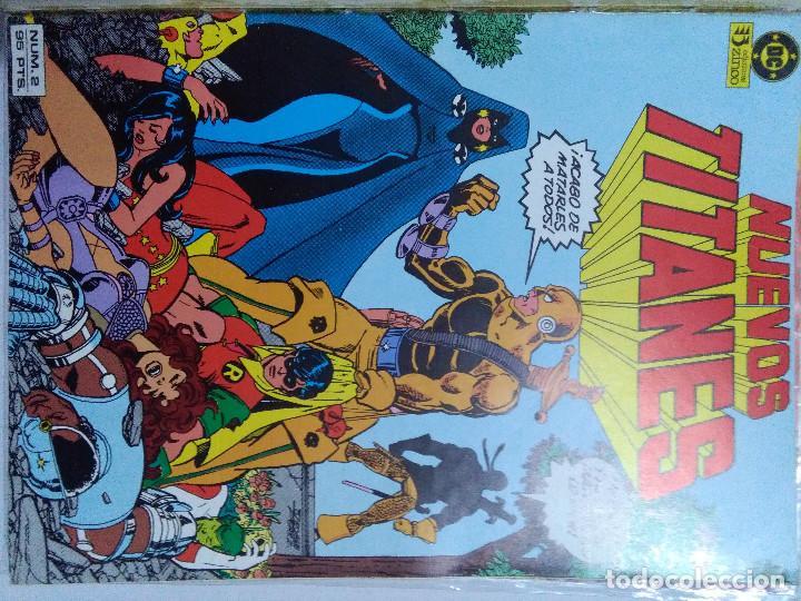 Cómics: COLECCION COMPLETA LOS NUEVOS TITANES VOLUMEN 1 DE 1984 50+1 ESP(FALTAN LOS NUMEROS 19-21-22-25) - Foto 5 - 221708342