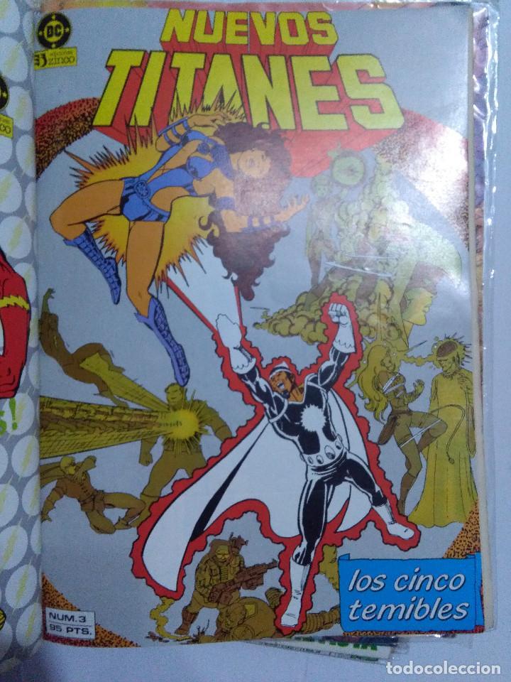 Cómics: COLECCION COMPLETA LOS NUEVOS TITANES VOLUMEN 1 DE 1984 50+1 ESP(FALTAN LOS NUMEROS 19-21-22-25) - Foto 6 - 221708342