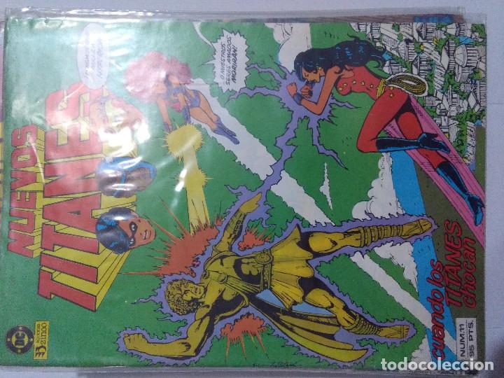 Cómics: COLECCION COMPLETA LOS NUEVOS TITANES VOLUMEN 1 DE 1984 50+1 ESP(FALTAN LOS NUMEROS 19-21-22-25) - Foto 14 - 221708342