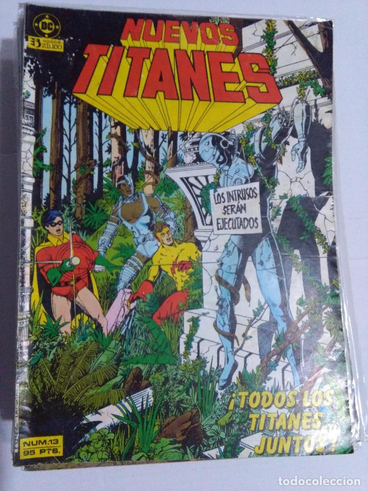 Cómics: COLECCION COMPLETA LOS NUEVOS TITANES VOLUMEN 1 DE 1984 50+1 ESP(FALTAN LOS NUMEROS 19-21-22-25) - Foto 16 - 221708342