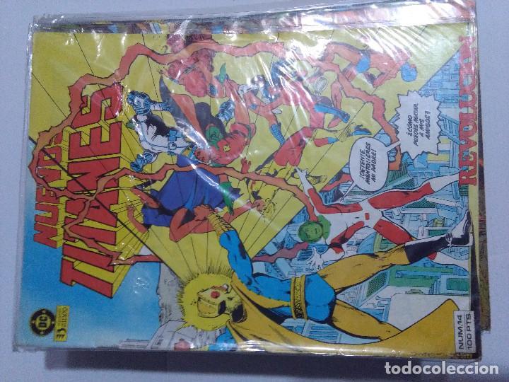 Cómics: COLECCION COMPLETA LOS NUEVOS TITANES VOLUMEN 1 DE 1984 50+1 ESP(FALTAN LOS NUMEROS 19-21-22-25) - Foto 17 - 221708342