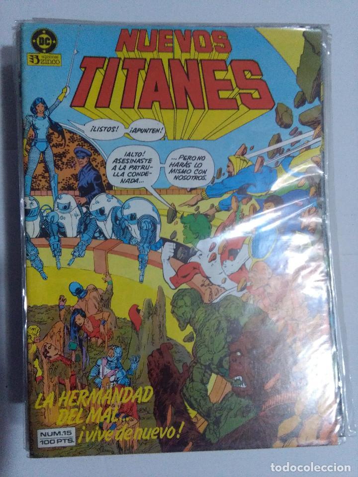 Cómics: COLECCION COMPLETA LOS NUEVOS TITANES VOLUMEN 1 DE 1984 50+1 ESP(FALTAN LOS NUMEROS 19-21-22-25) - Foto 18 - 221708342