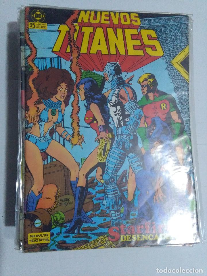 Cómics: COLECCION COMPLETA LOS NUEVOS TITANES VOLUMEN 1 DE 1984 50+1 ESP(FALTAN LOS NUMEROS 19-21-22-25) - Foto 19 - 221708342