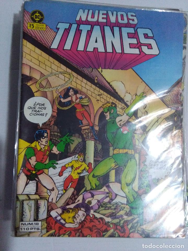 Cómics: COLECCION COMPLETA LOS NUEVOS TITANES VOLUMEN 1 DE 1984 50+1 ESP(FALTAN LOS NUMEROS 19-21-22-25) - Foto 21 - 221708342