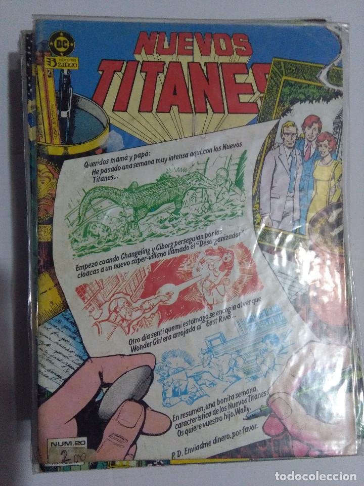 Cómics: COLECCION COMPLETA LOS NUEVOS TITANES VOLUMEN 1 DE 1984 50+1 ESP(FALTAN LOS NUMEROS 19-21-22-25) - Foto 22 - 221708342