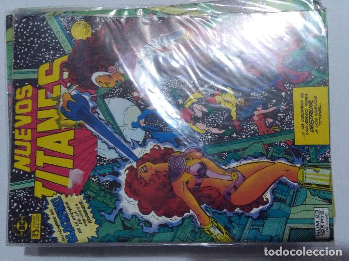 Cómics: COLECCION COMPLETA LOS NUEVOS TITANES VOLUMEN 1 DE 1984 50+1 ESP(FALTAN LOS NUMEROS 19-21-22-25) - Foto 23 - 221708342