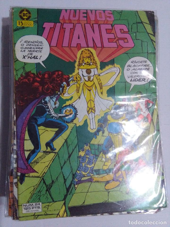 Cómics: COLECCION COMPLETA LOS NUEVOS TITANES VOLUMEN 1 DE 1984 50+1 ESP(FALTAN LOS NUMEROS 19-21-22-25) - Foto 24 - 221708342