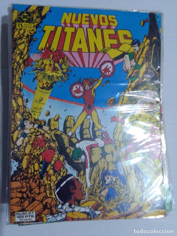Cómics: COLECCION COMPLETA LOS NUEVOS TITANES VOLUMEN 1 DE 1984 50+1 ESP(FALTAN LOS NUMEROS 19-21-22-25) - Foto 26 - 221708342