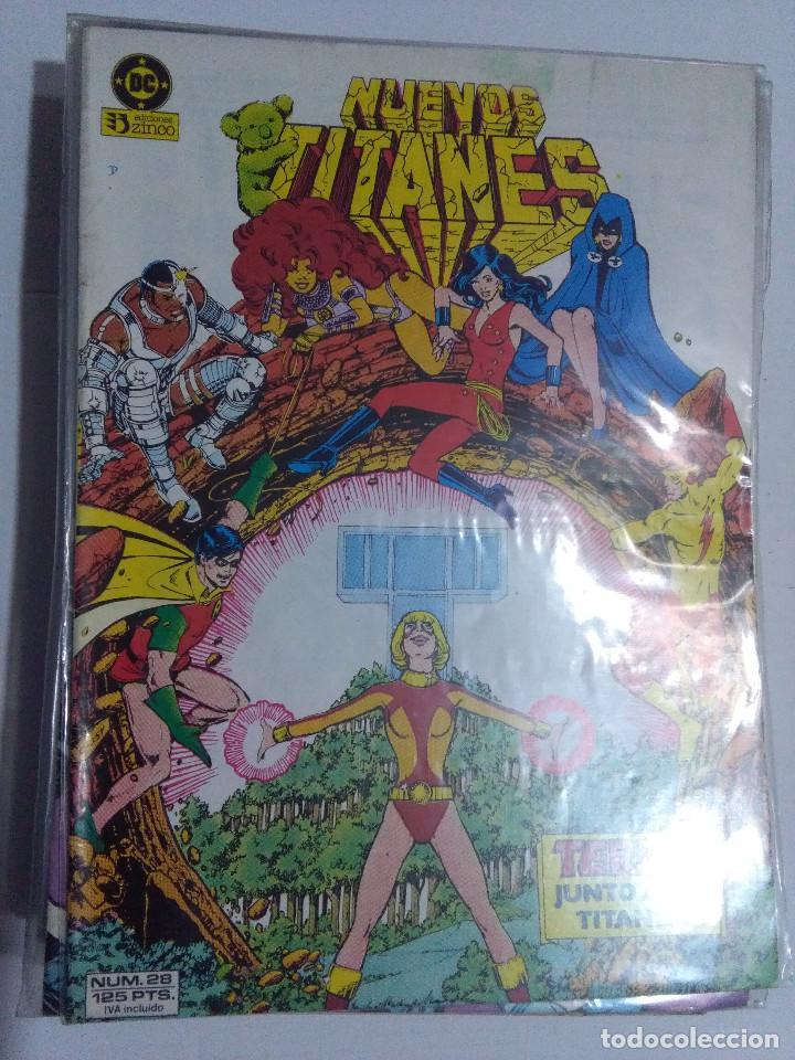 Cómics: COLECCION COMPLETA LOS NUEVOS TITANES VOLUMEN 1 DE 1984 50+1 ESP(FALTAN LOS NUMEROS 19-21-22-25) - Foto 27 - 221708342