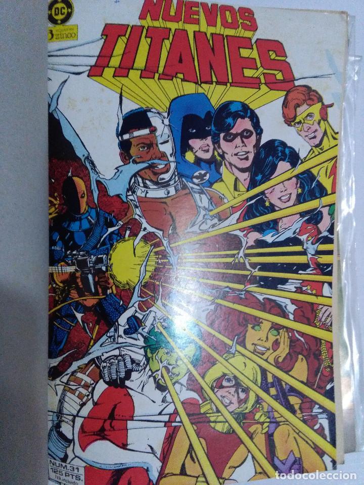 Cómics: COLECCION COMPLETA LOS NUEVOS TITANES VOLUMEN 1 DE 1984 50+1 ESP(FALTAN LOS NUMEROS 19-21-22-25) - Foto 31 - 221708342
