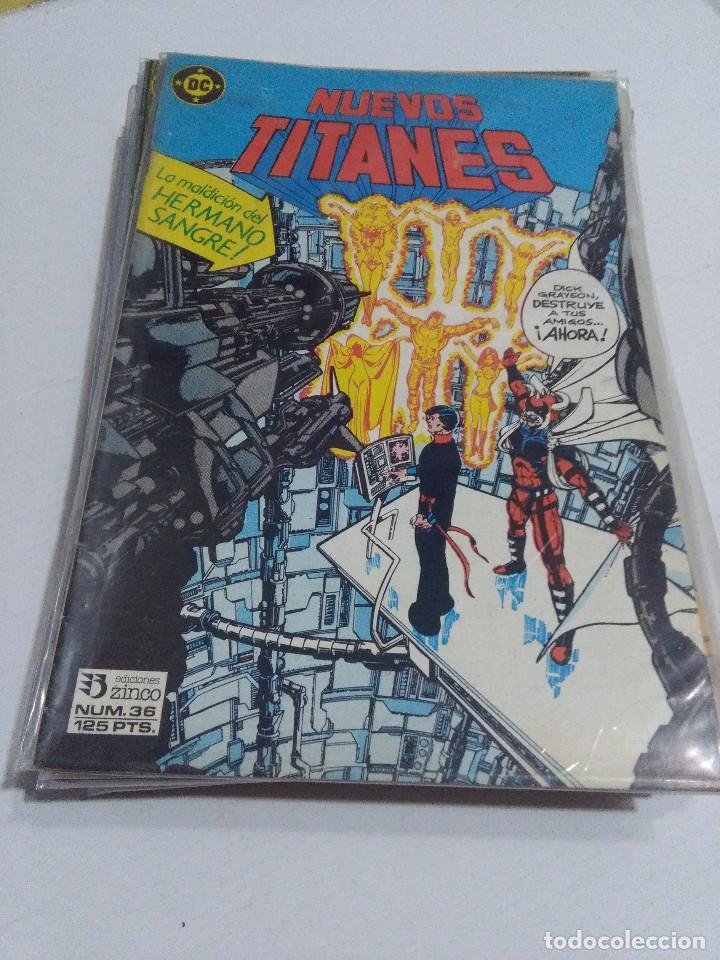 Cómics: COLECCION COMPLETA LOS NUEVOS TITANES VOLUMEN 1 DE 1984 50+1 ESP(FALTAN LOS NUMEROS 19-21-22-25) - Foto 36 - 221708342