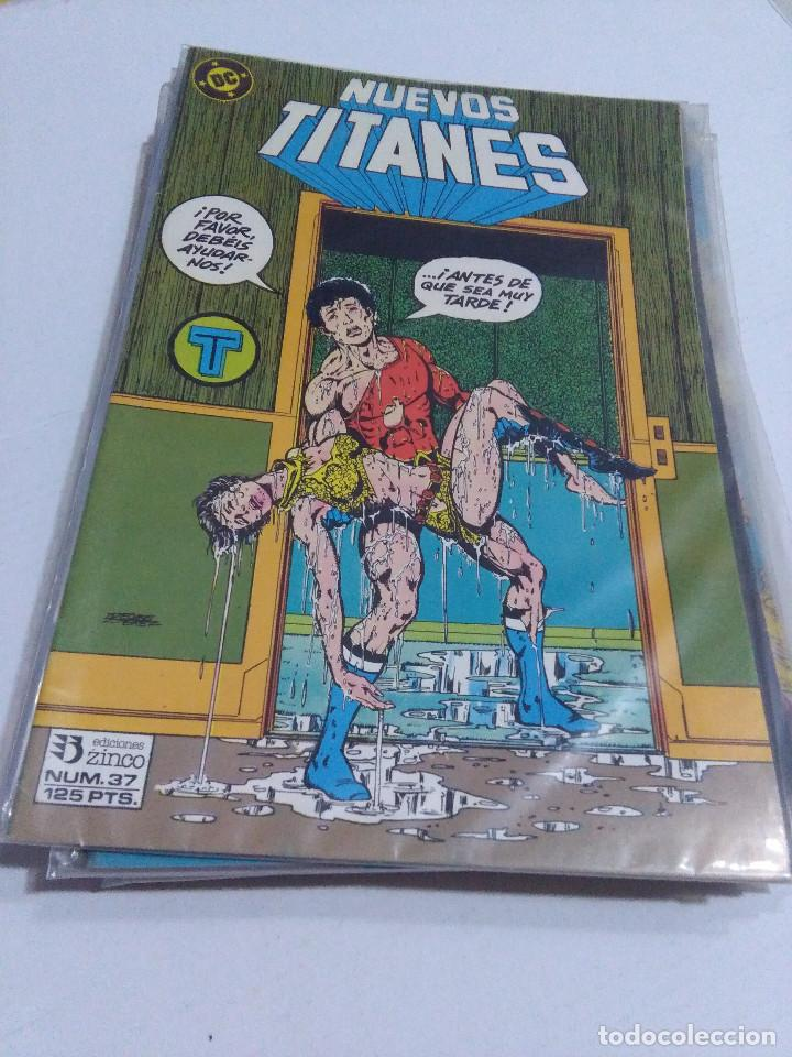 Cómics: COLECCION COMPLETA LOS NUEVOS TITANES VOLUMEN 1 DE 1984 50+1 ESP(FALTAN LOS NUMEROS 19-21-22-25) - Foto 37 - 221708342