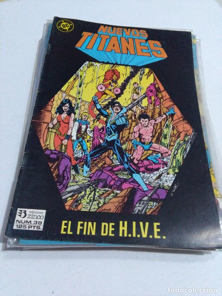 Cómics: COLECCION COMPLETA LOS NUEVOS TITANES VOLUMEN 1 DE 1984 50+1 ESP(FALTAN LOS NUMEROS 19-21-22-25) - Foto 38 - 221708342