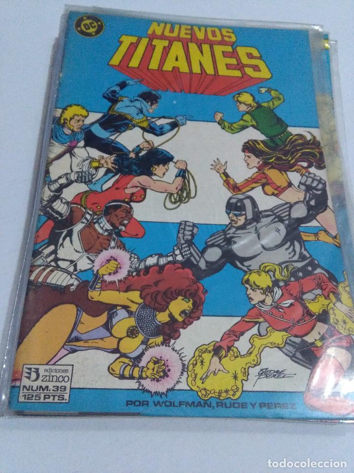 Cómics: COLECCION COMPLETA LOS NUEVOS TITANES VOLUMEN 1 DE 1984 50+1 ESP(FALTAN LOS NUMEROS 19-21-22-25) - Foto 39 - 221708342