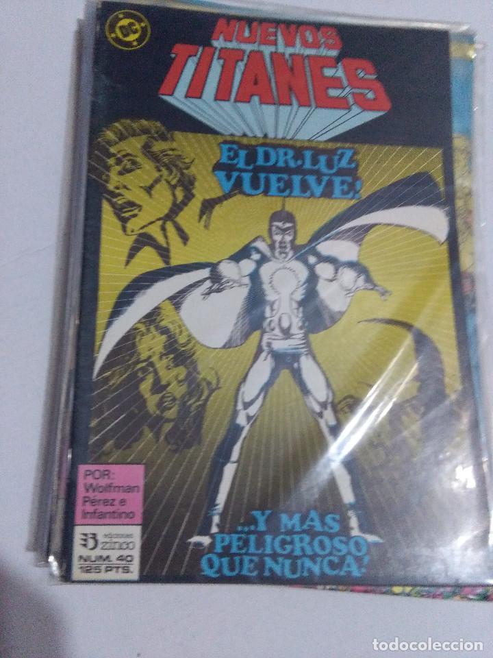 Cómics: COLECCION COMPLETA LOS NUEVOS TITANES VOLUMEN 1 DE 1984 50+1 ESP(FALTAN LOS NUMEROS 19-21-22-25) - Foto 40 - 221708342