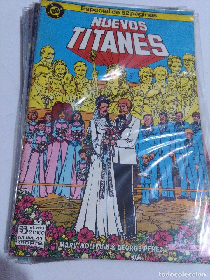 Cómics: COLECCION COMPLETA LOS NUEVOS TITANES VOLUMEN 1 DE 1984 50+1 ESP(FALTAN LOS NUMEROS 19-21-22-25) - Foto 41 - 221708342