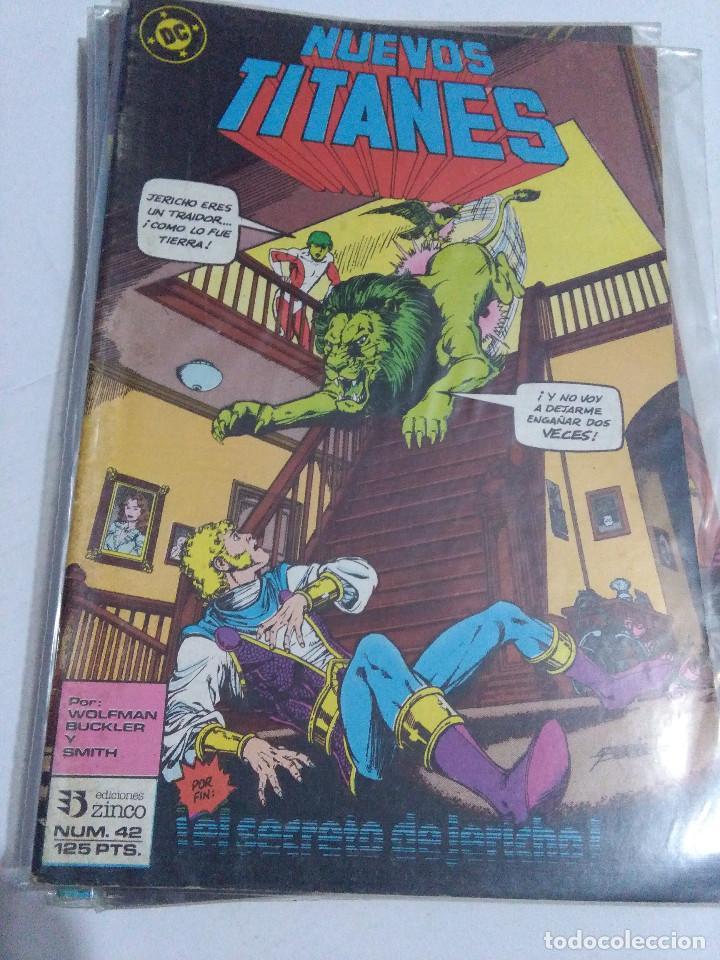 Cómics: COLECCION COMPLETA LOS NUEVOS TITANES VOLUMEN 1 DE 1984 50+1 ESP(FALTAN LOS NUMEROS 19-21-22-25) - Foto 42 - 221708342