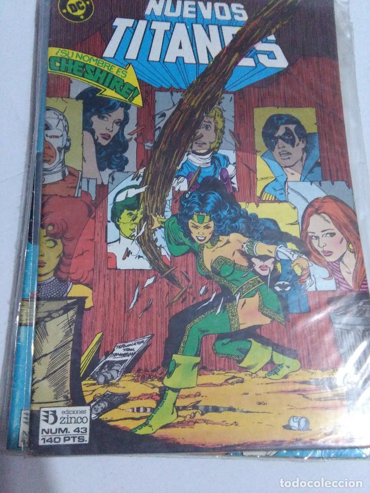 Cómics: COLECCION COMPLETA LOS NUEVOS TITANES VOLUMEN 1 DE 1984 50+1 ESP(FALTAN LOS NUMEROS 19-21-22-25) - Foto 43 - 221708342