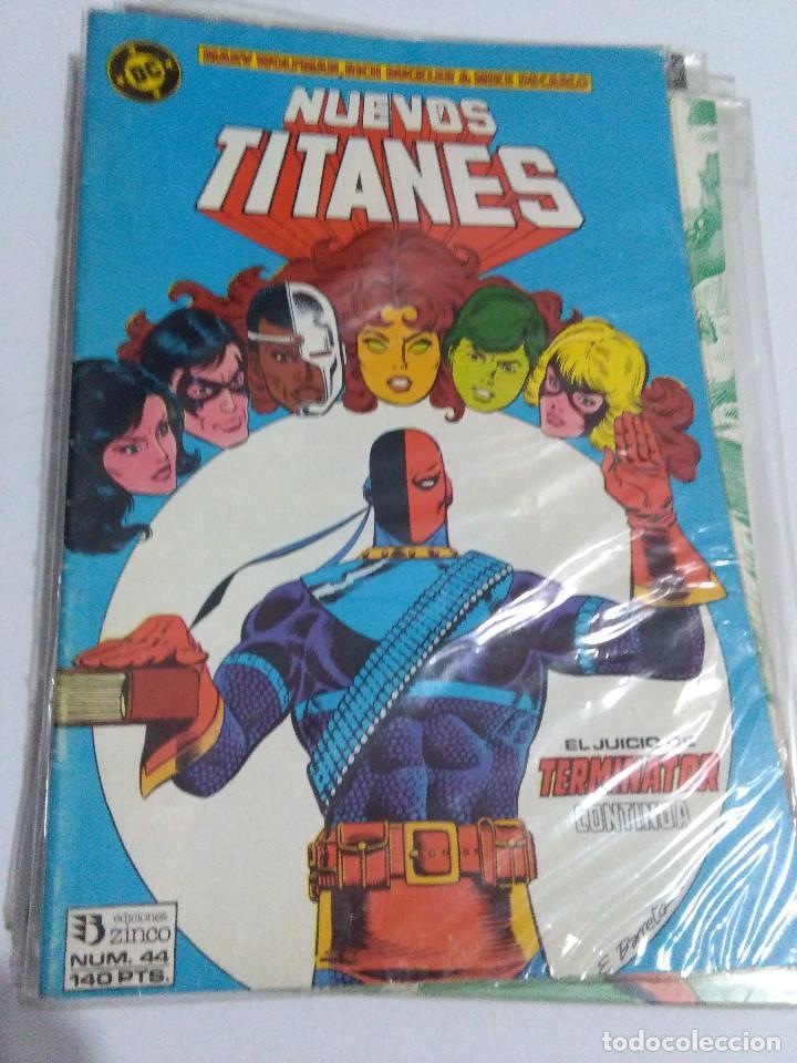 Cómics: COLECCION COMPLETA LOS NUEVOS TITANES VOLUMEN 1 DE 1984 50+1 ESP(FALTAN LOS NUMEROS 19-21-22-25) - Foto 44 - 221708342