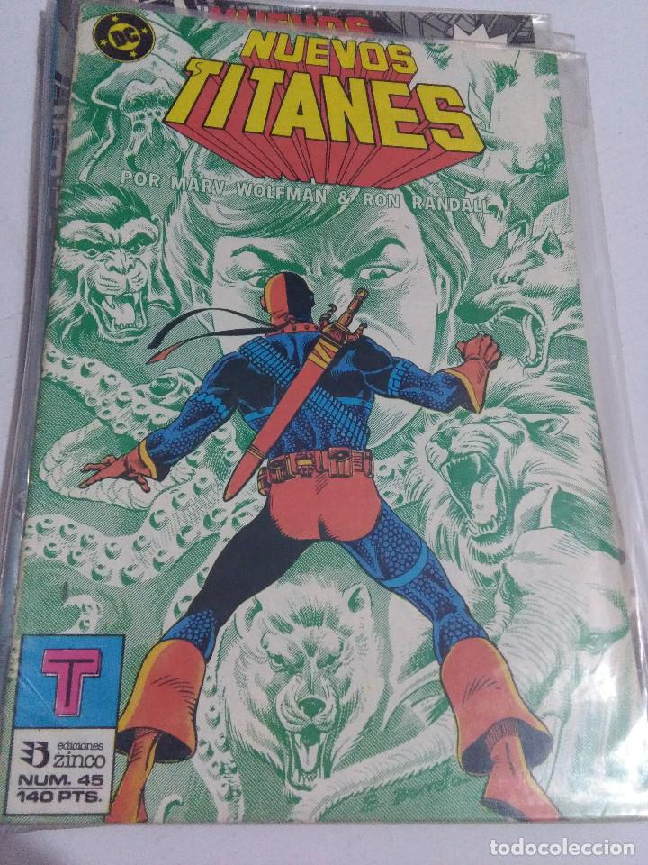 Cómics: COLECCION COMPLETA LOS NUEVOS TITANES VOLUMEN 1 DE 1984 50+1 ESP(FALTAN LOS NUMEROS 19-21-22-25) - Foto 45 - 221708342