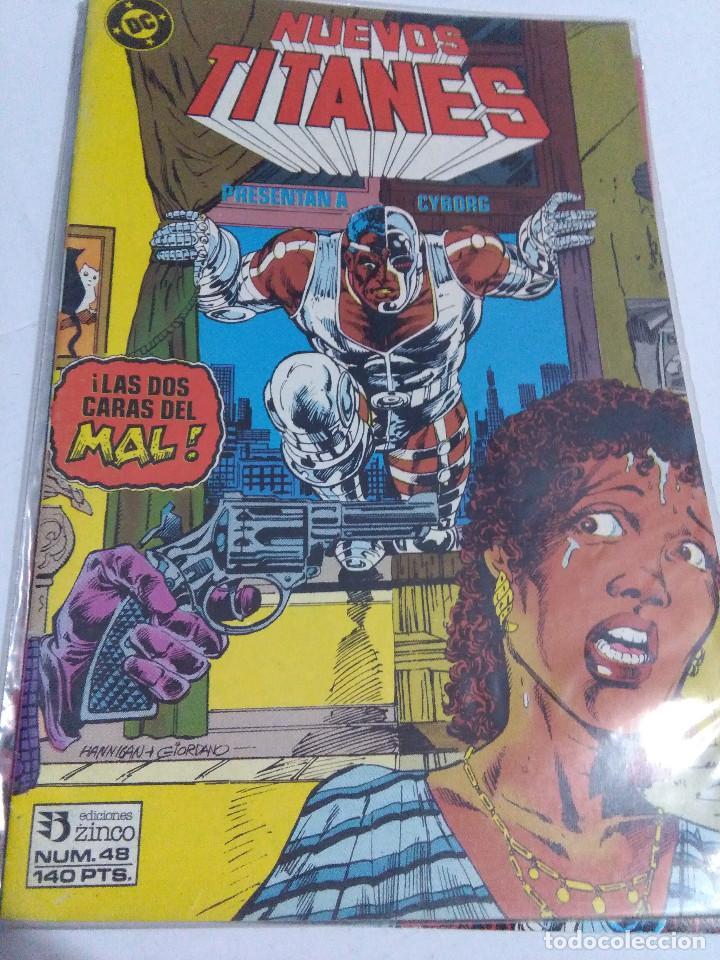 Cómics: COLECCION COMPLETA LOS NUEVOS TITANES VOLUMEN 1 DE 1984 50+1 ESP(FALTAN LOS NUMEROS 19-21-22-25) - Foto 48 - 221708342