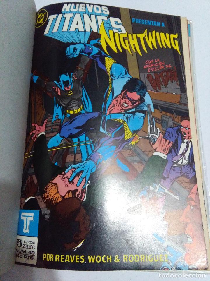 Cómics: COLECCION COMPLETA LOS NUEVOS TITANES VOLUMEN 1 DE 1984 50+1 ESP(FALTAN LOS NUMEROS 19-21-22-25) - Foto 50 - 221708342